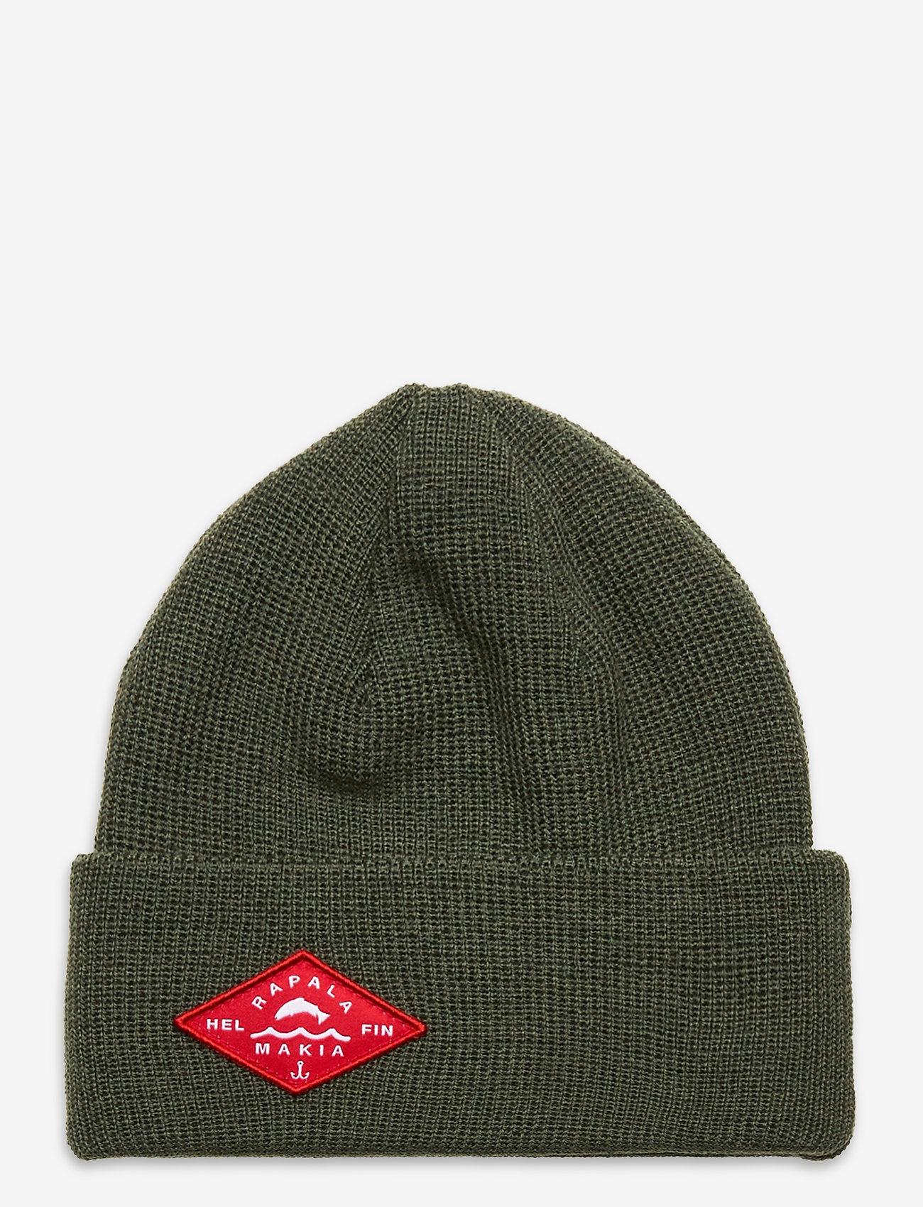 Makia - Bait beanie - bonnet - moss - 0