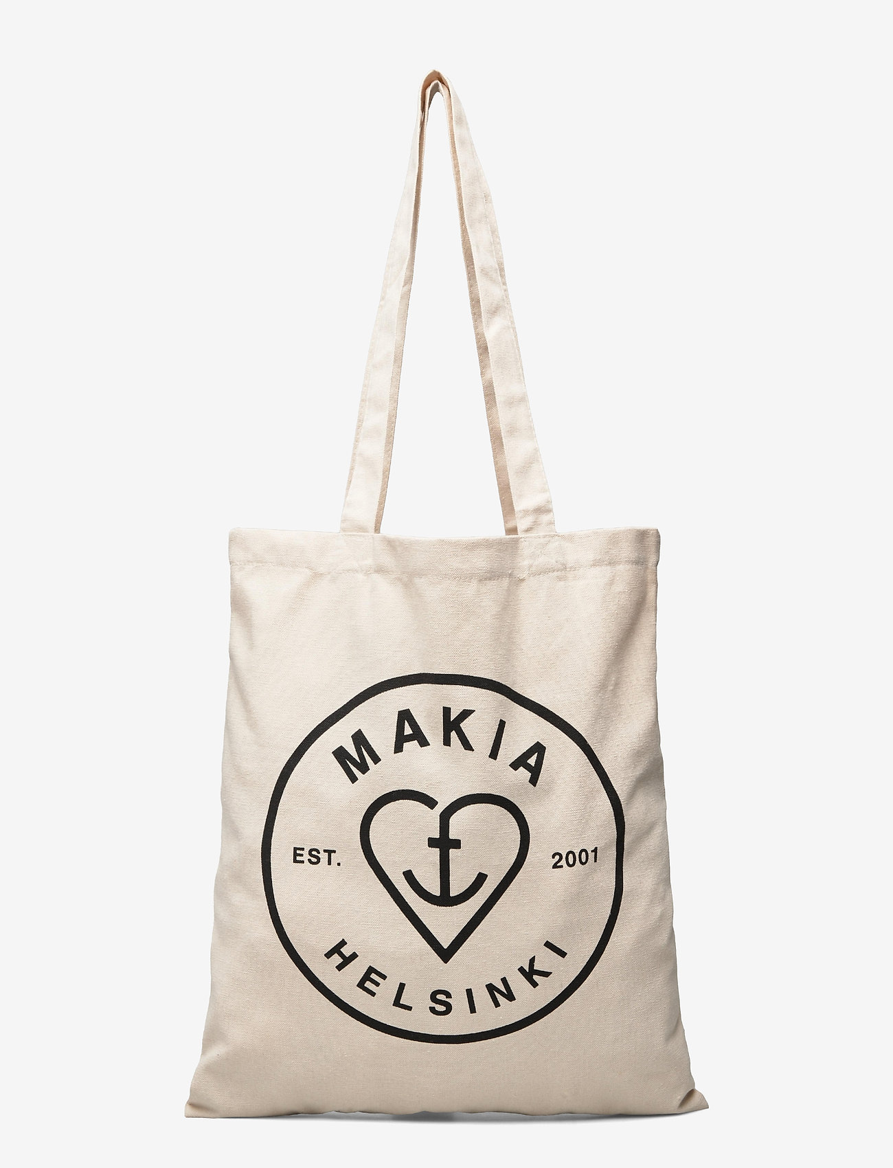 Makia - Knot Tote Bag - shoppers - ecru - 0