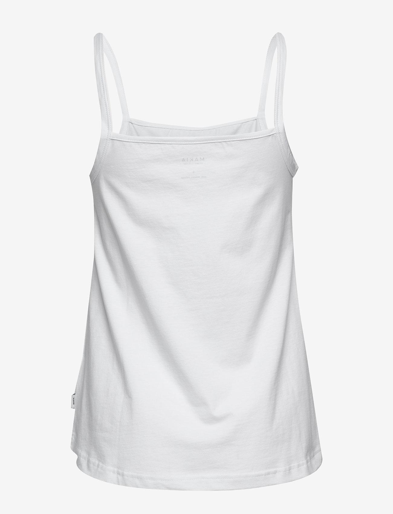 Makia Dune Top - T-shirty i zopy WHITE - Kobiety Odzież.