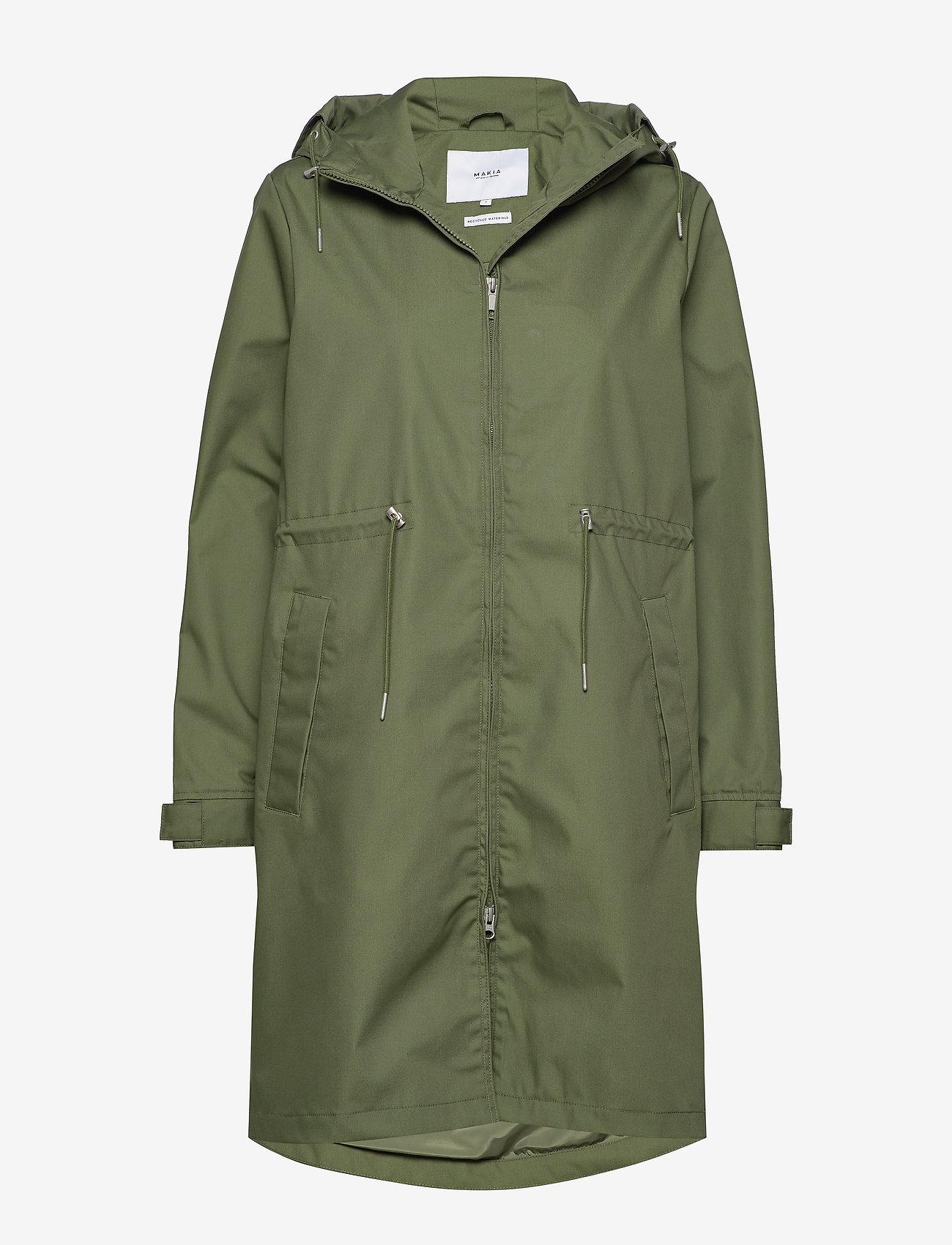 Makia - Rey Jacket - vêtements de pluie - green - 1