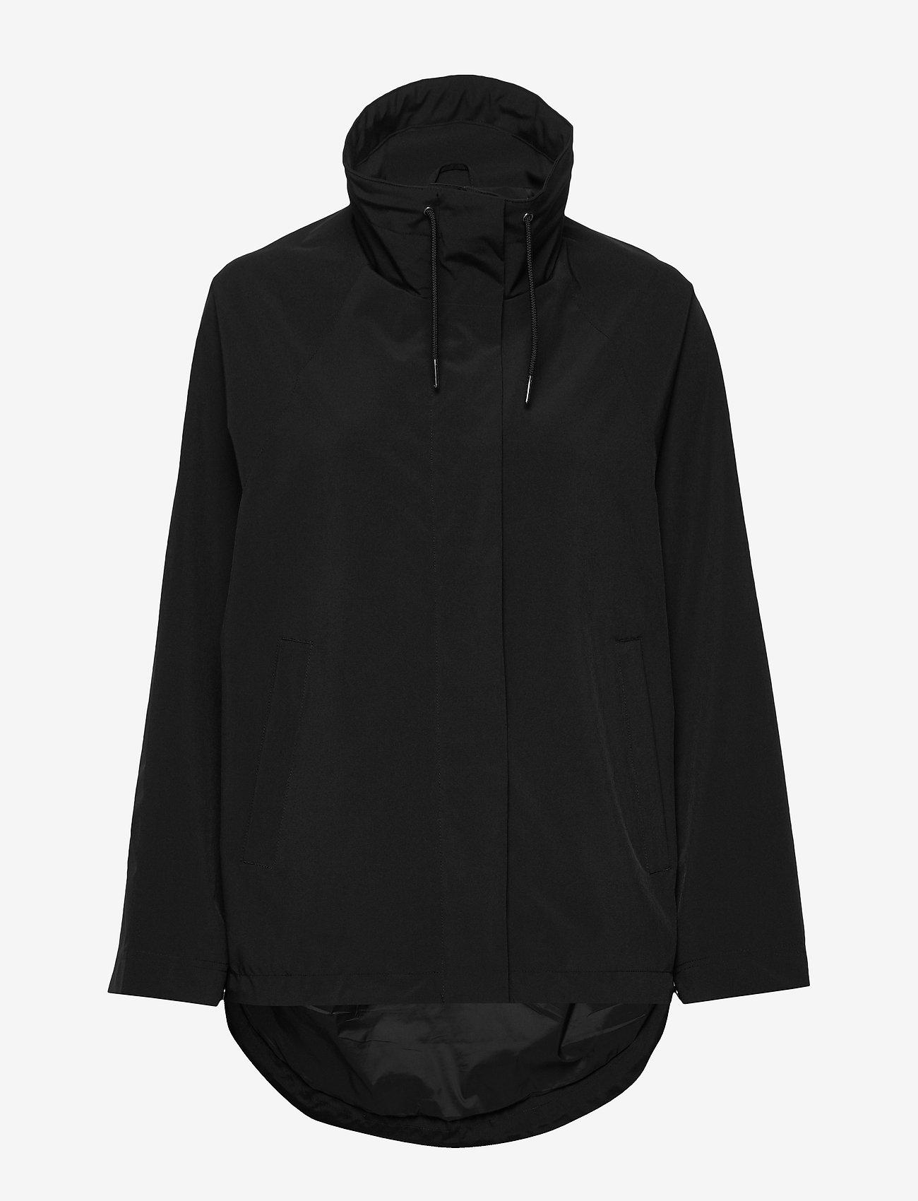 Makia - Leya Jacket - regnkläder - black - 1