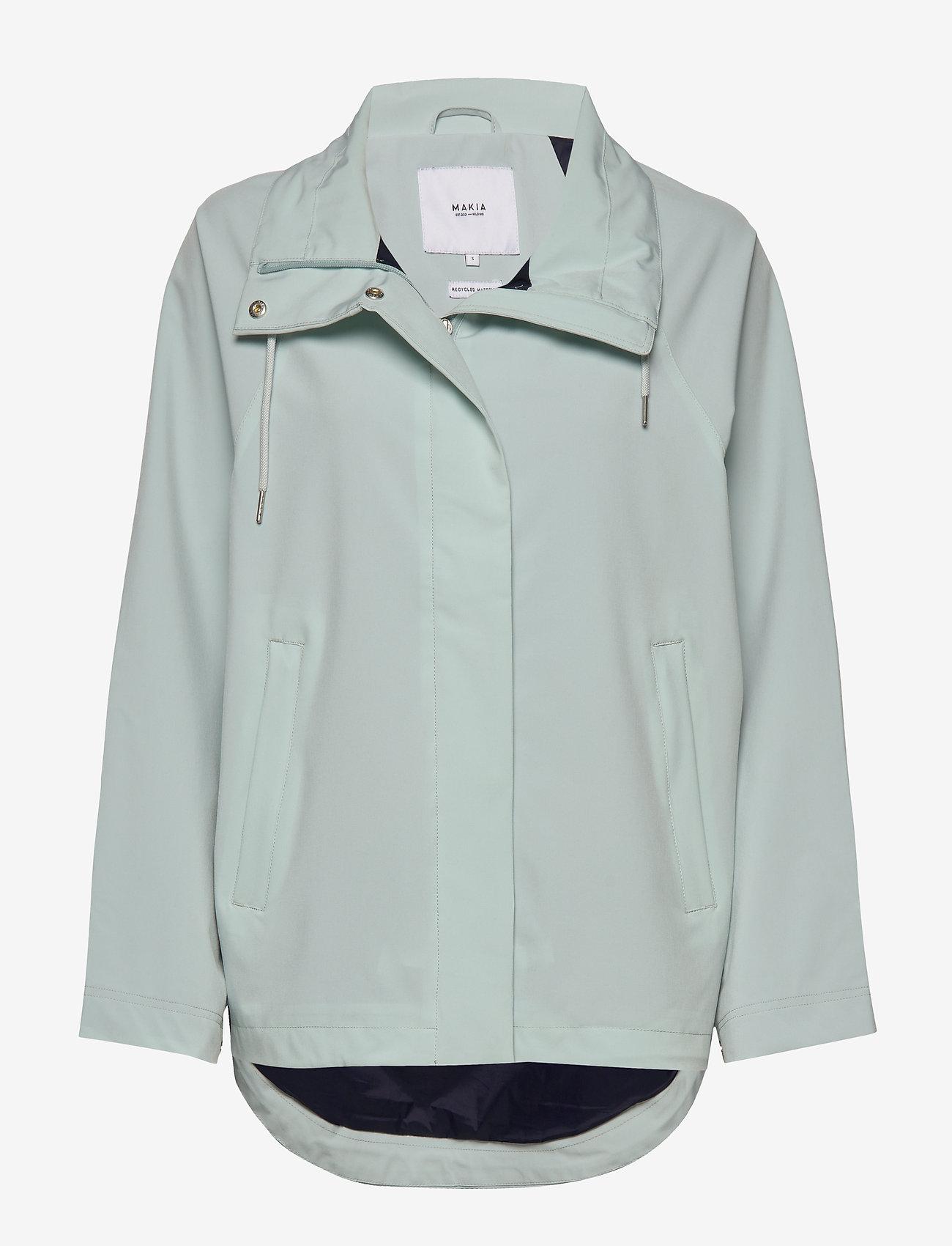 Makia - Leya Jacket - regnkläder - mint - 0