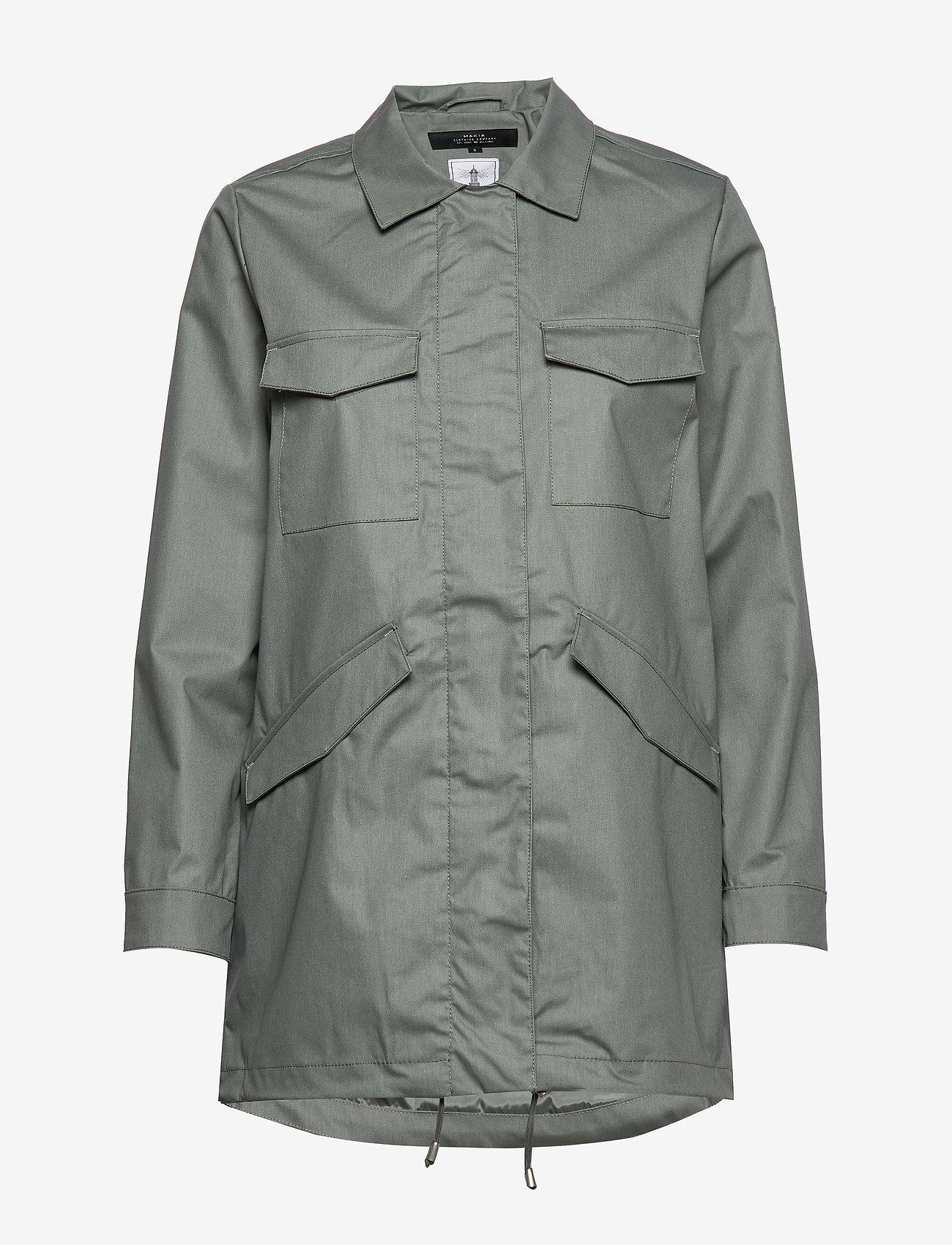 Makia - UTILITY JACKET - regnkläder - olive - 1
