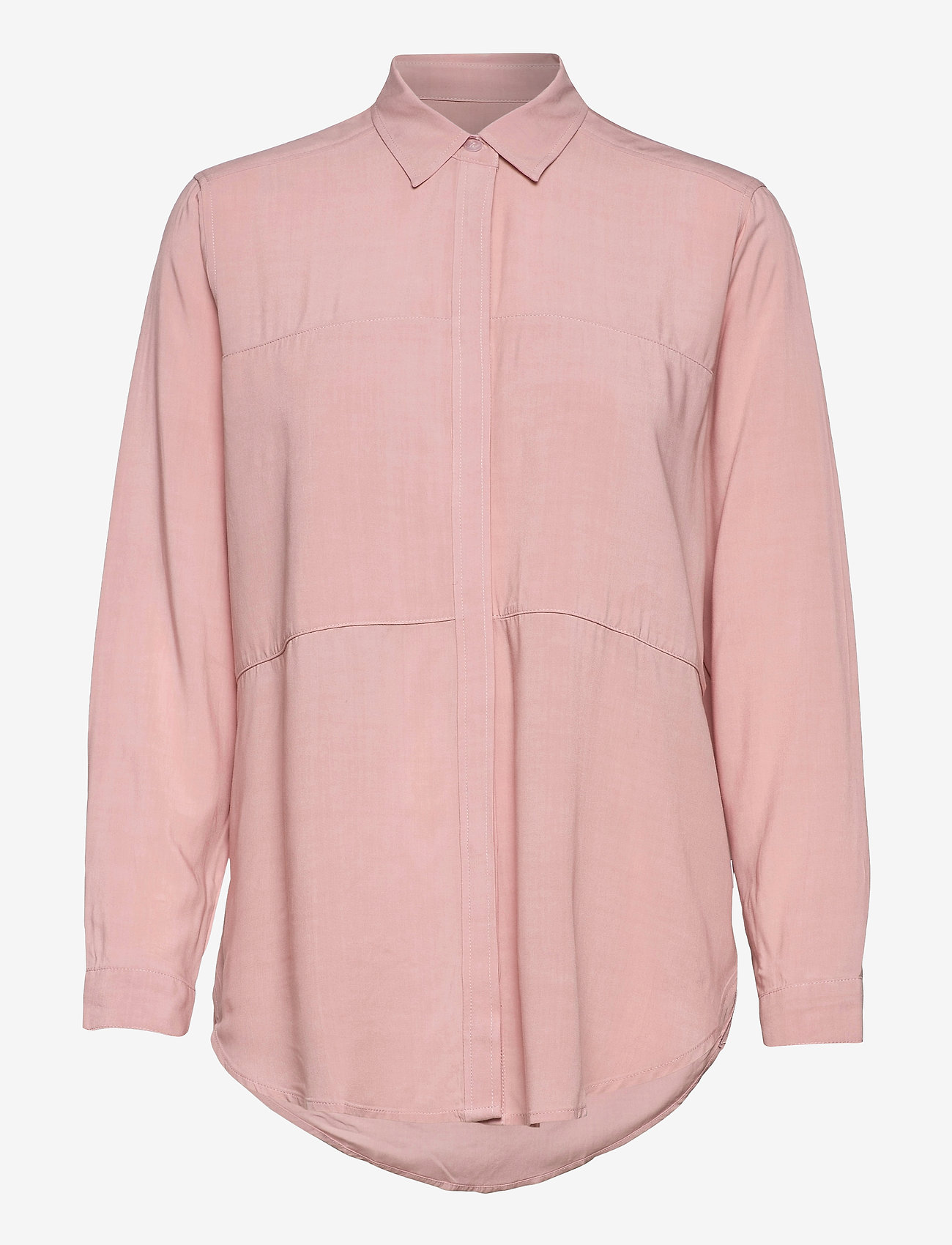 Makia - Mist Shirt - langærmede skjorter - rose - 0
