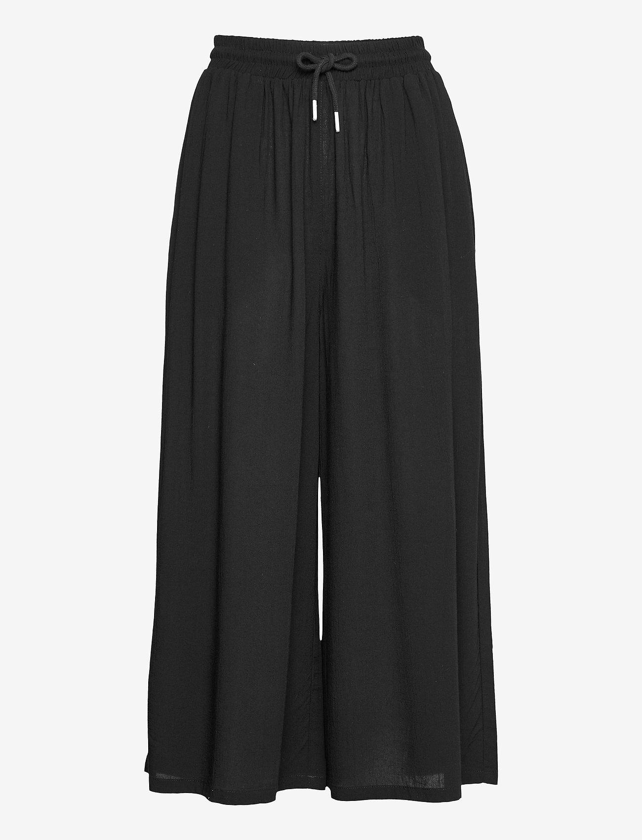 Makia - Geira Pants - bukser med brede ben - black - 1
