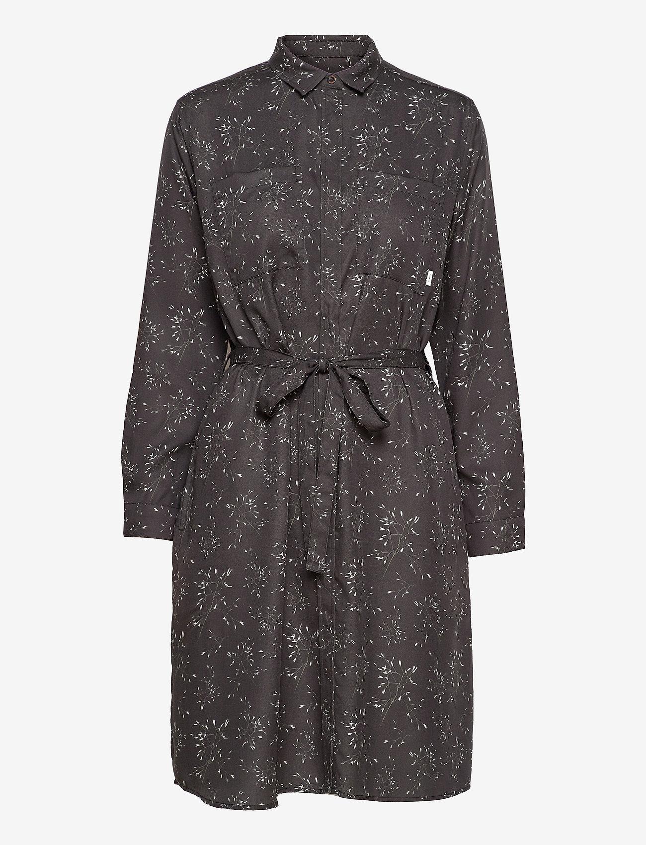 Makia - Aava Dress - midi dresses - black hay - 0