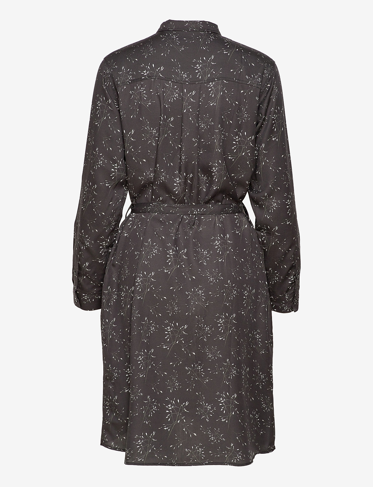 Makia - Aava Dress - midi dresses - black hay - 1