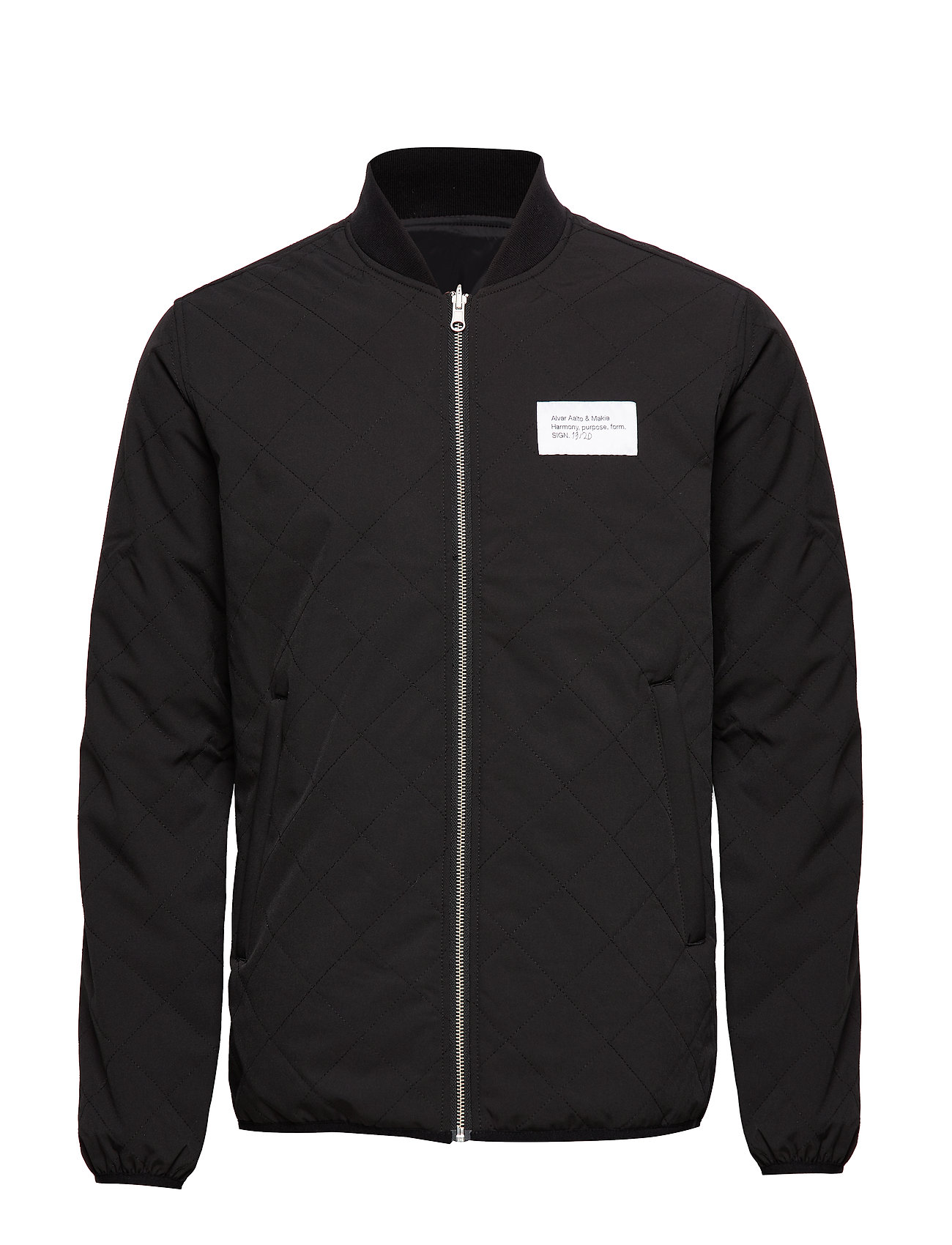 Makia Aalto Quilted Jacket - BLACK