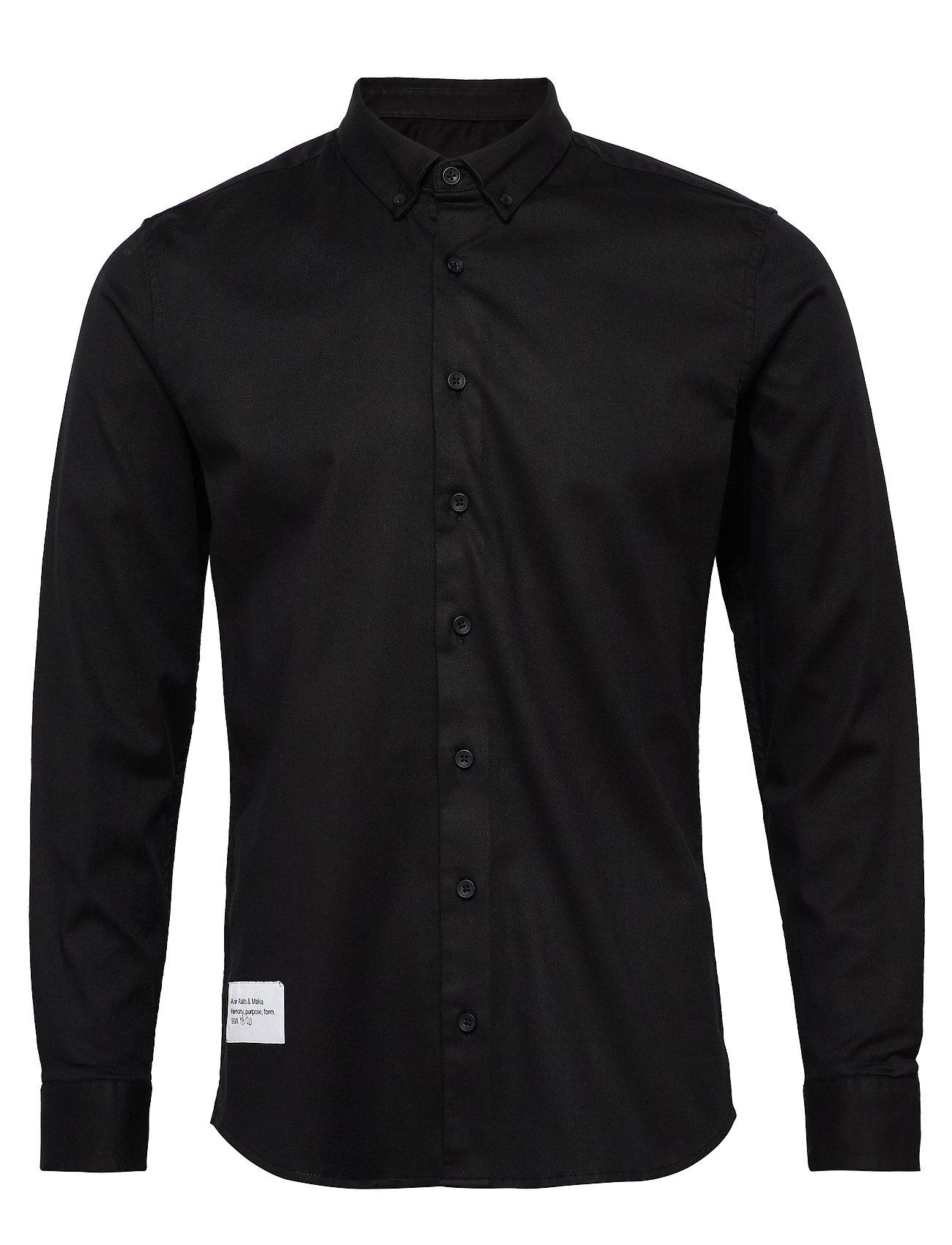 Makia Architect Shirt - BLACK