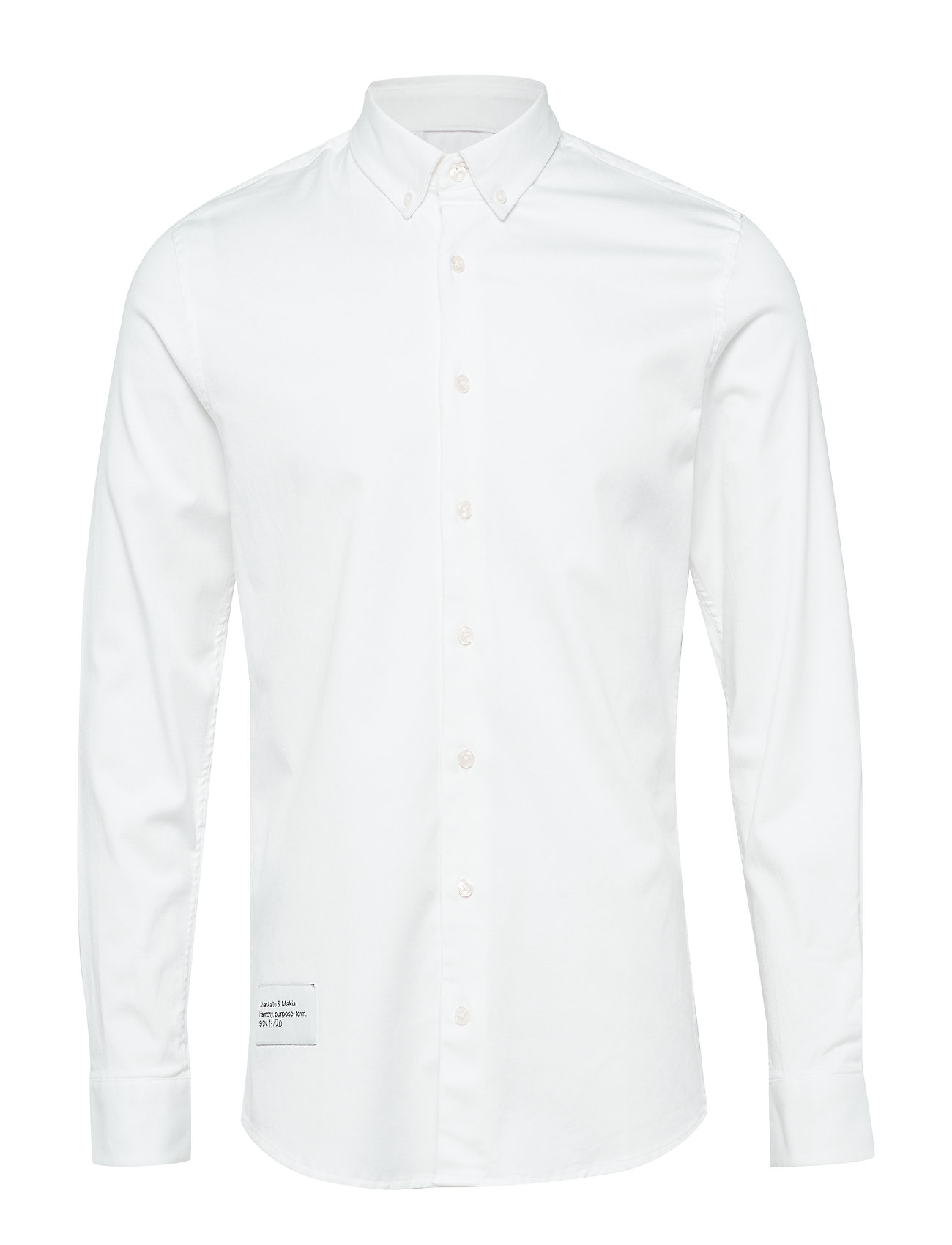 Makia Architect Shirt - WHITE