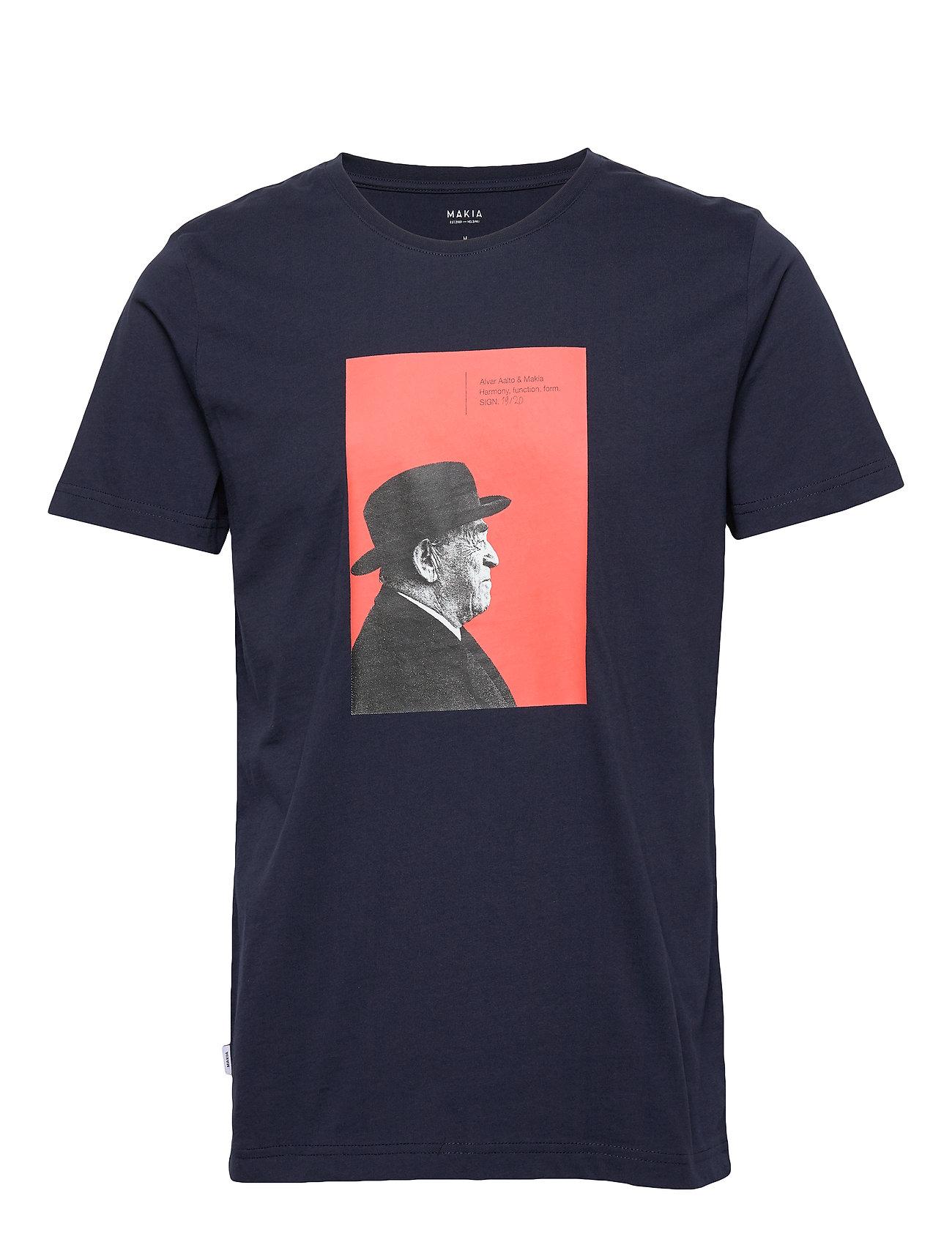 Makia Aalto T-Shirt - DARK BLUE