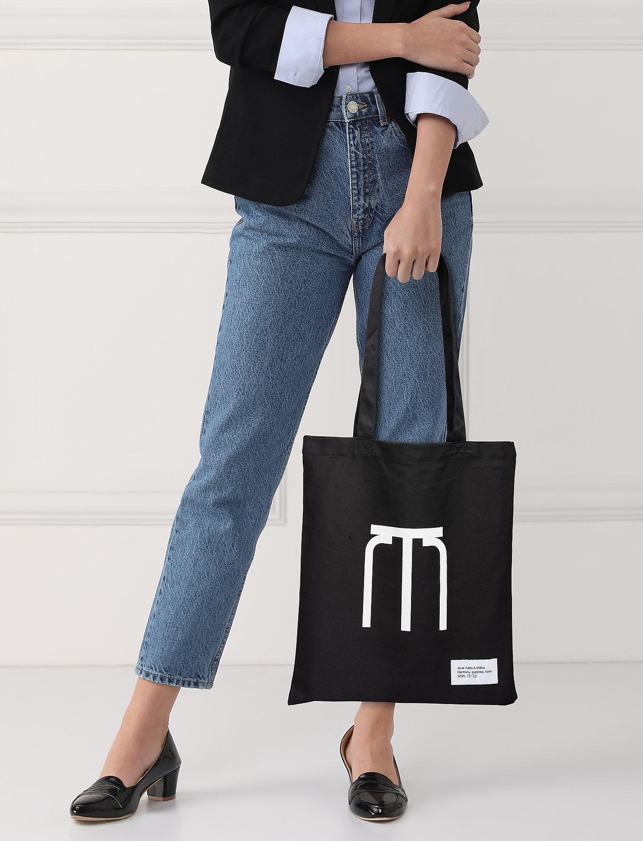 Makia Stool Tote Bag - BLACK