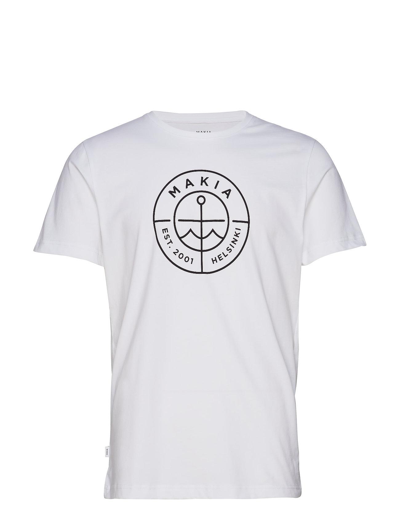 Makia Scope T-Shirt - WHITE