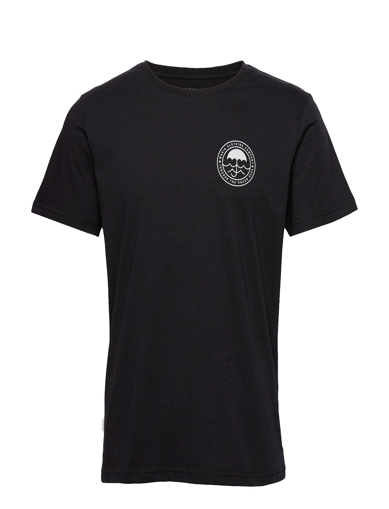 Makia Umbrella T-Shirt - BLACK
