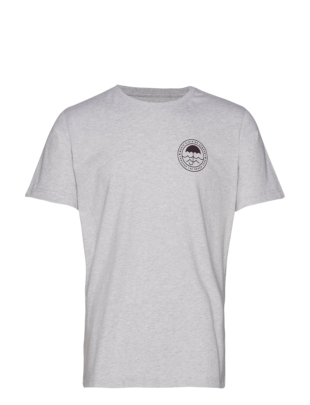 Makia Umbrella T-Shirt - LIGHT GREY