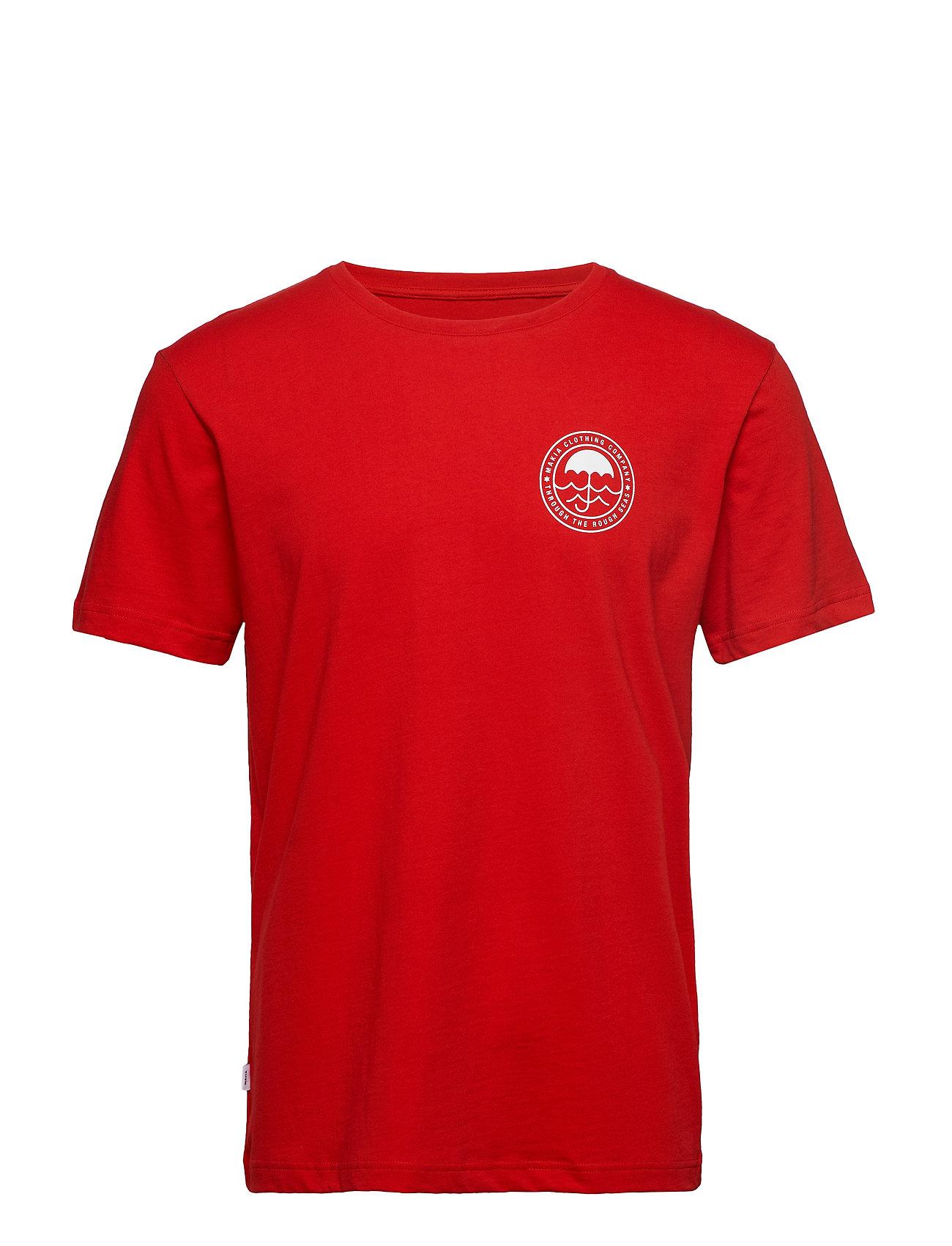 Makia Umbrella T-Shirt - RED
