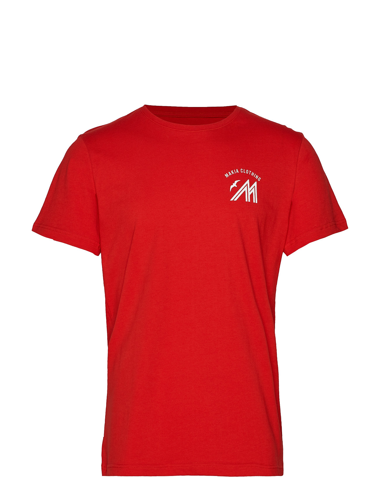 Makia Station T-Shirt - RED
