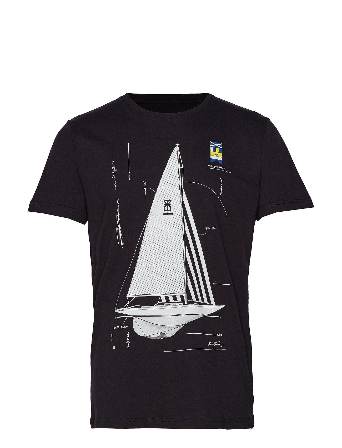 Makia Genoa T-shirt - BLACK