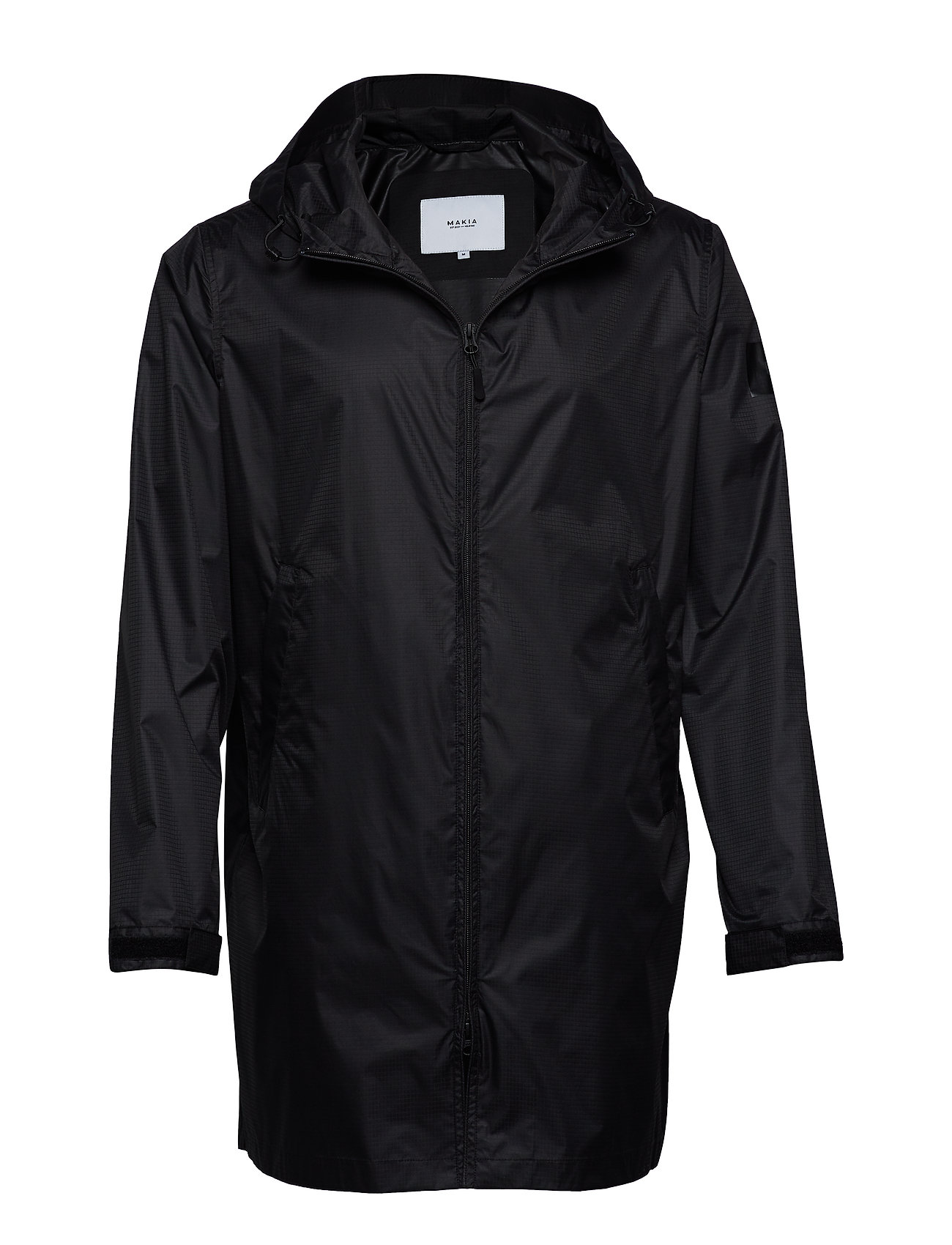 Makia GUST JACKET - BLACK