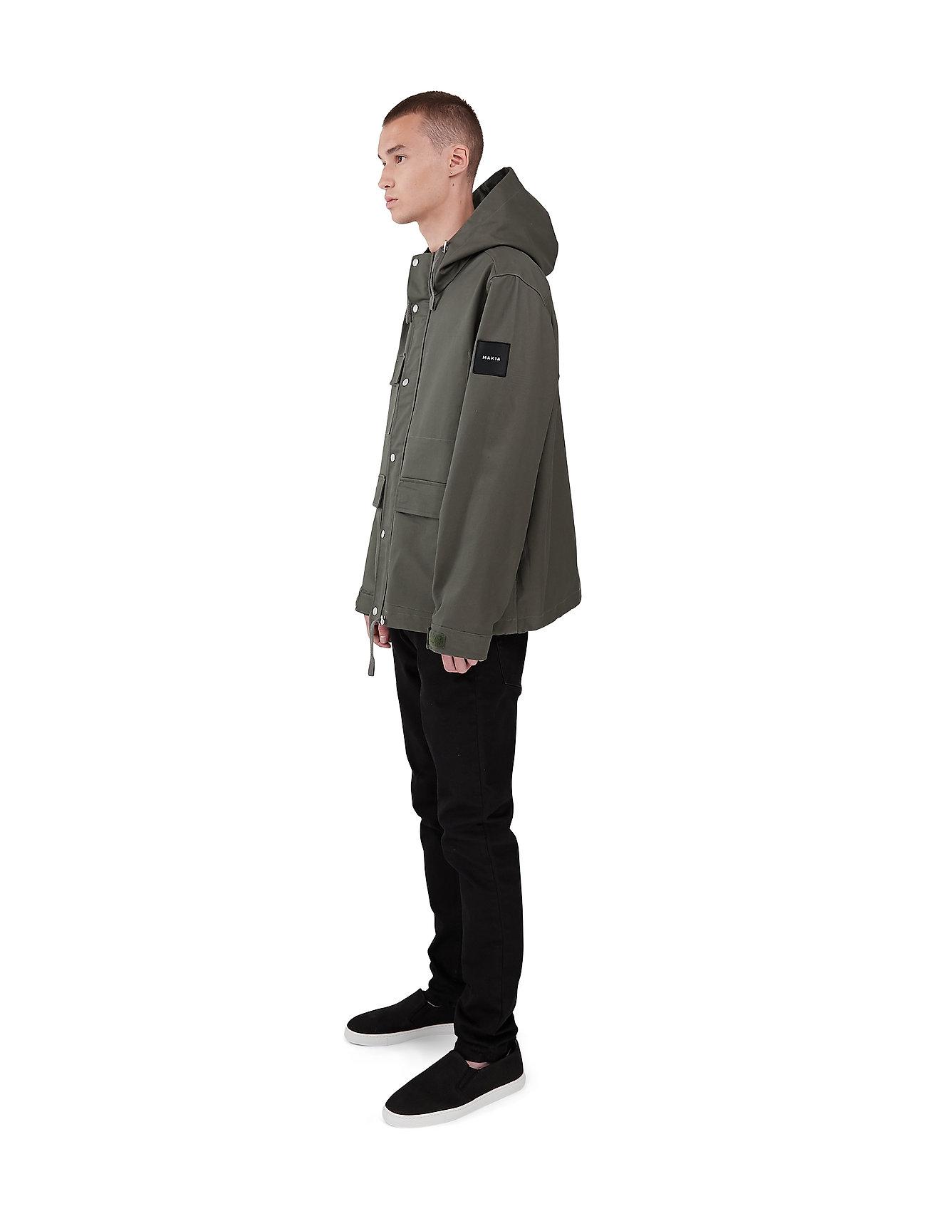 Makia - Scout Jacket - parka's - green - 4