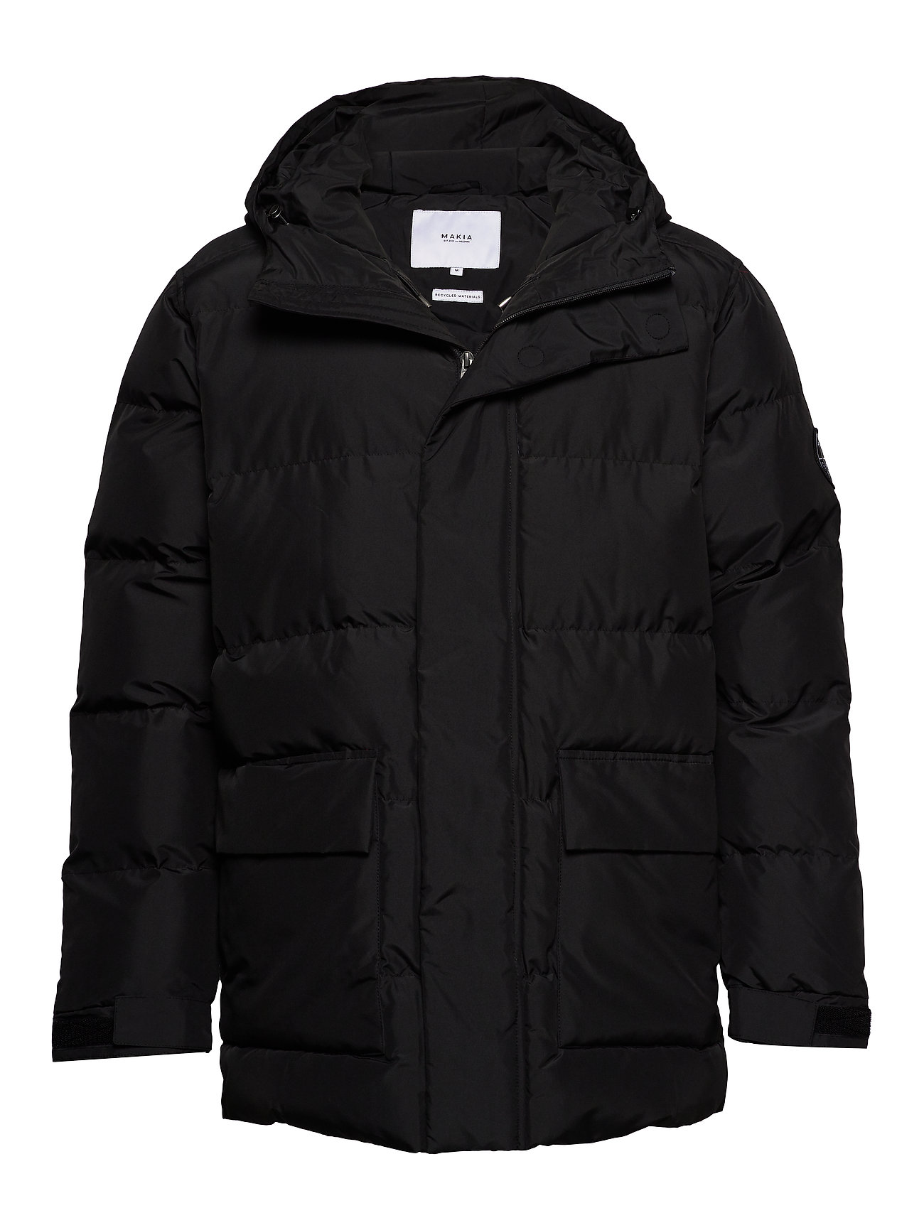 Makia Berg Jacket - BLACK