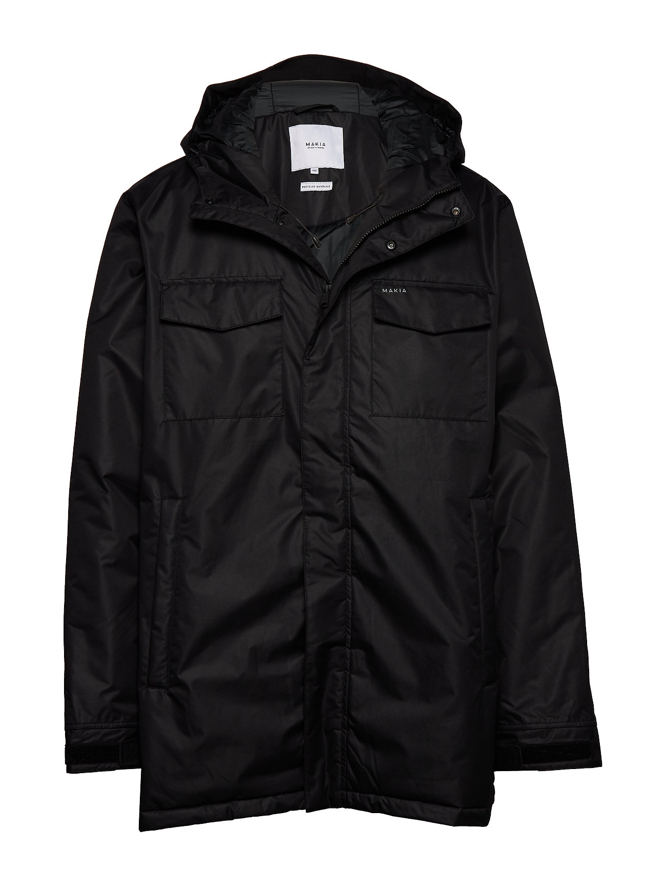 Makia Atlas Jacket - BLACK