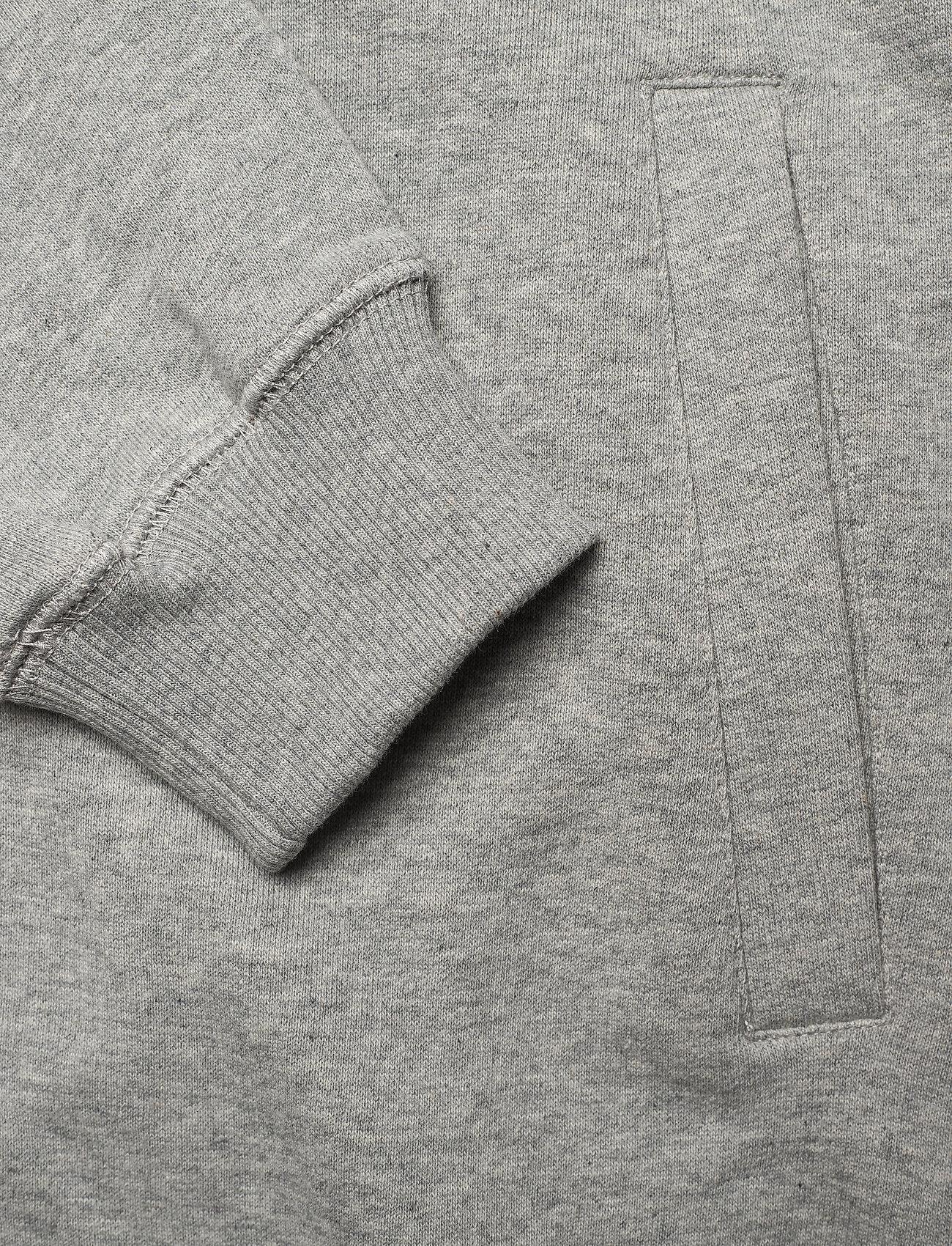 Makia Branch Hooded Sweatshirt - Sweatshirts GREY - Menn Klær
