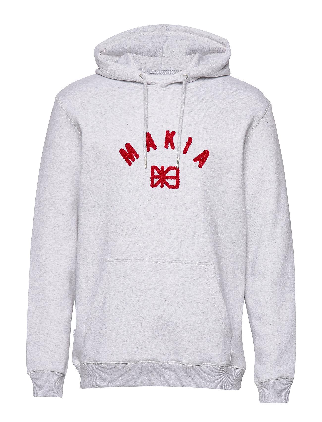 Makia Brand Hooded Sweatshirt - LIGHT GREY