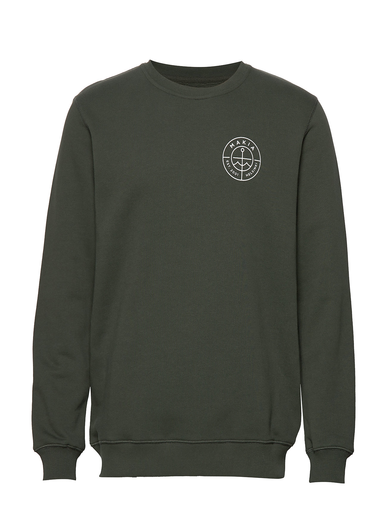 Makia Range Sweatshirt - DARK GREEN