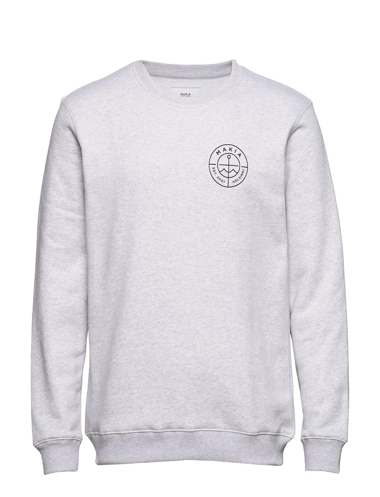 Makia Range Sweatshirt - LIGHT GREY