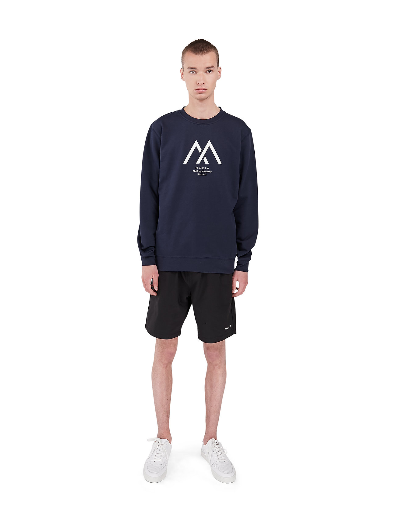 Makia - Seafarer Light Sweatshirt - truien - dark blue - 0