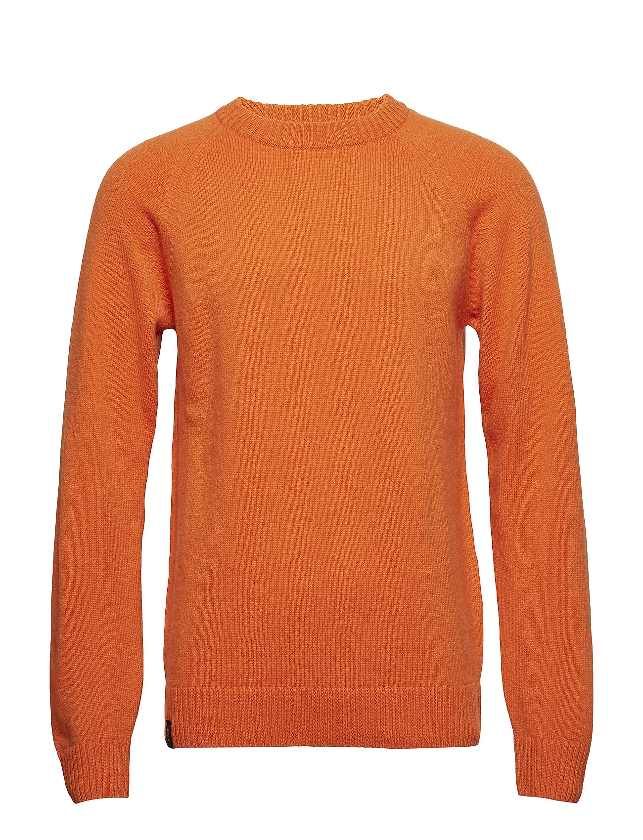 Image of Nordic Knit Strikket Trøje Med Rund Hals Orange Makia (3333151397)