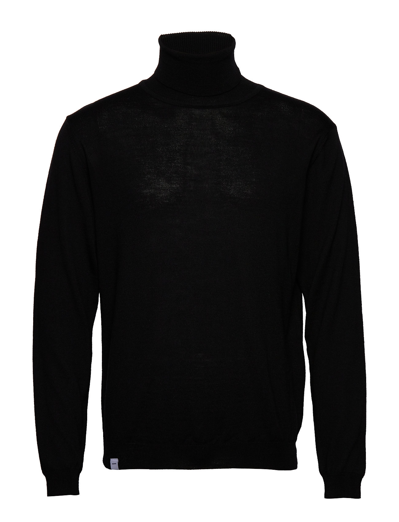 Makia Roll Neck Knit - BLACK