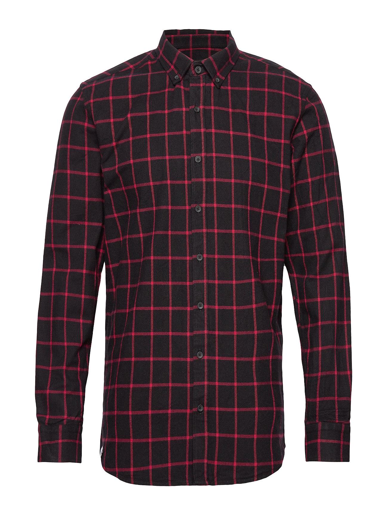 Makia Tailgate Shirt - DARK RED