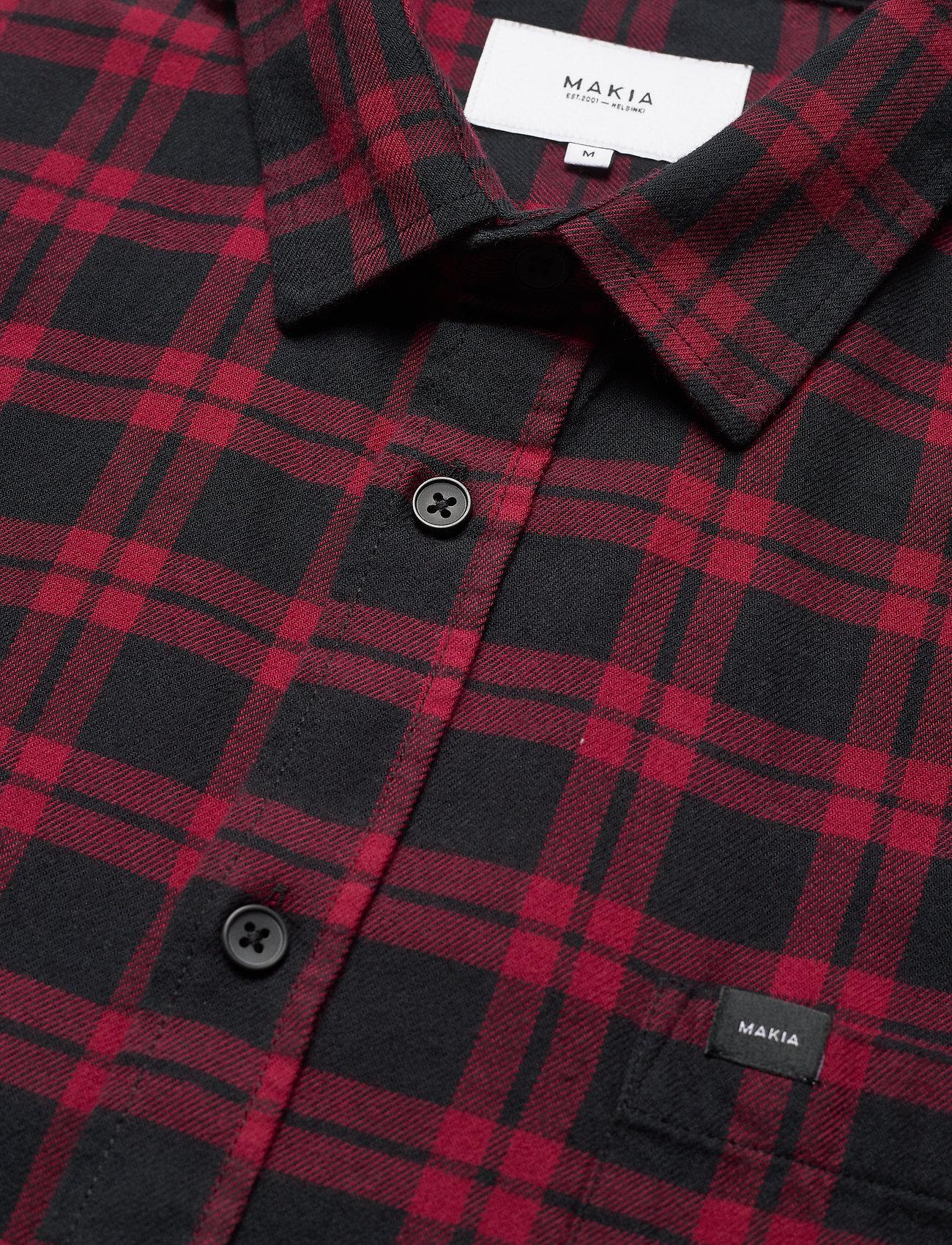 Makia Area Shirt - Skjorter PORT-NAVY - Menn Klær