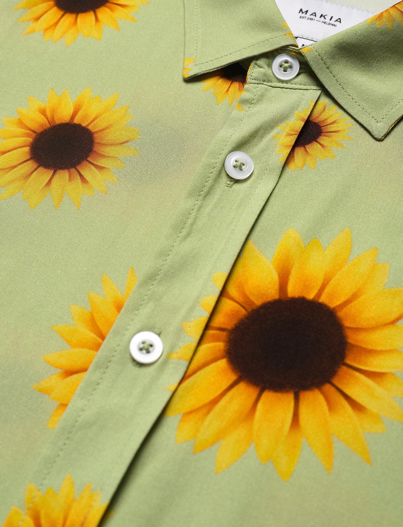 Makia - Common SS Shirt - geruite overhemden - light green - 3