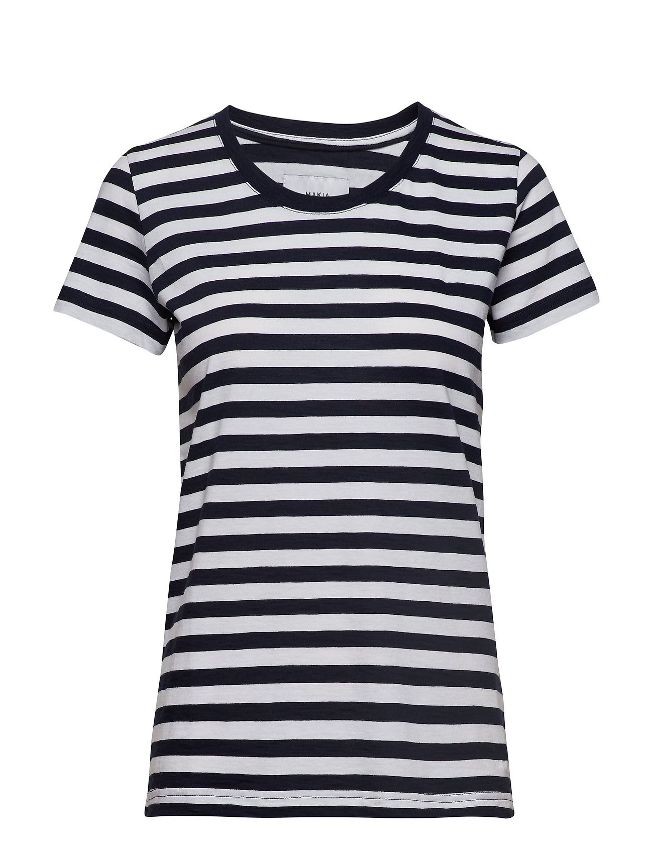 Makia Verkstad T-Shirt - NAVY-WHITE
