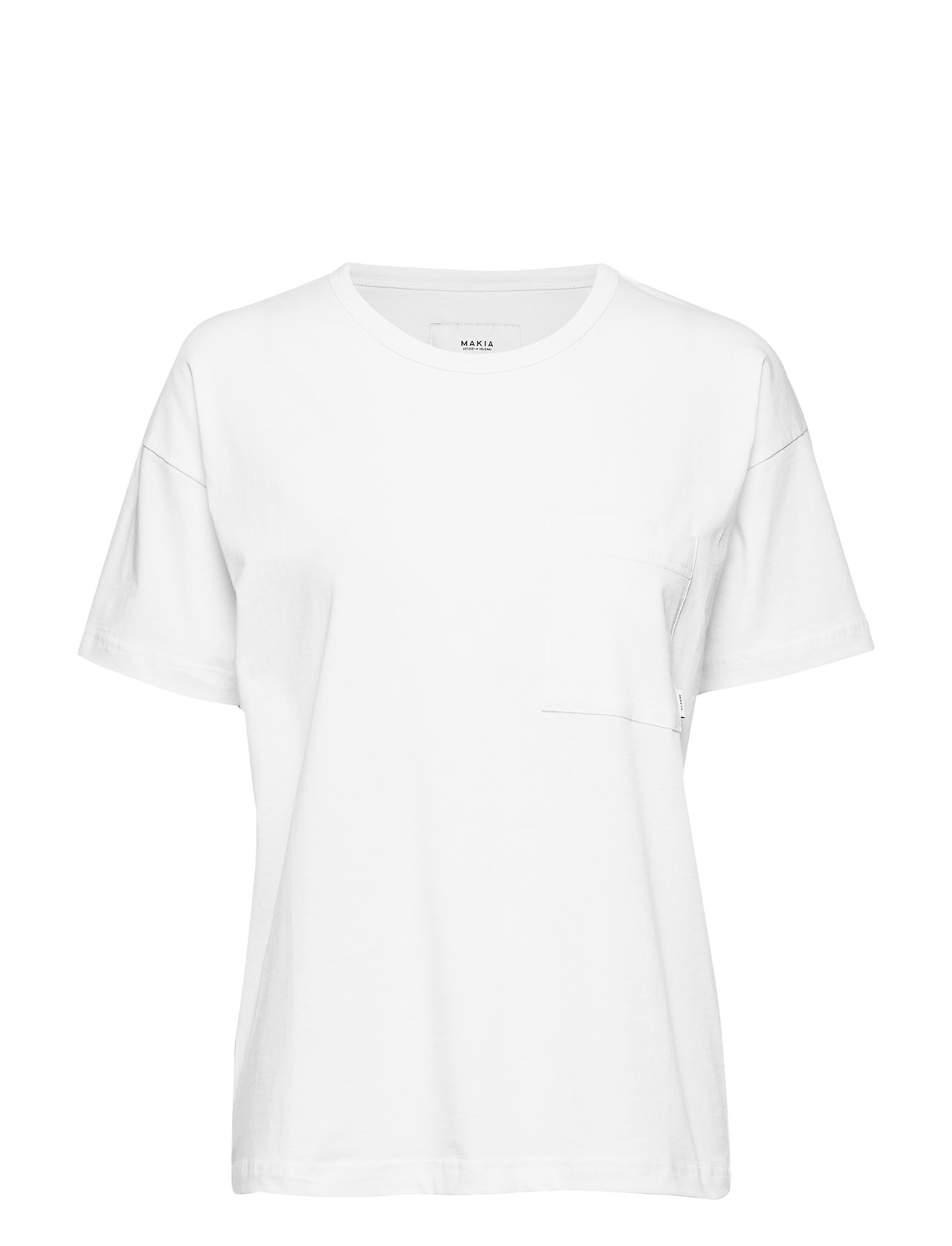 Makia Dusk T-Shirt - WHITE
