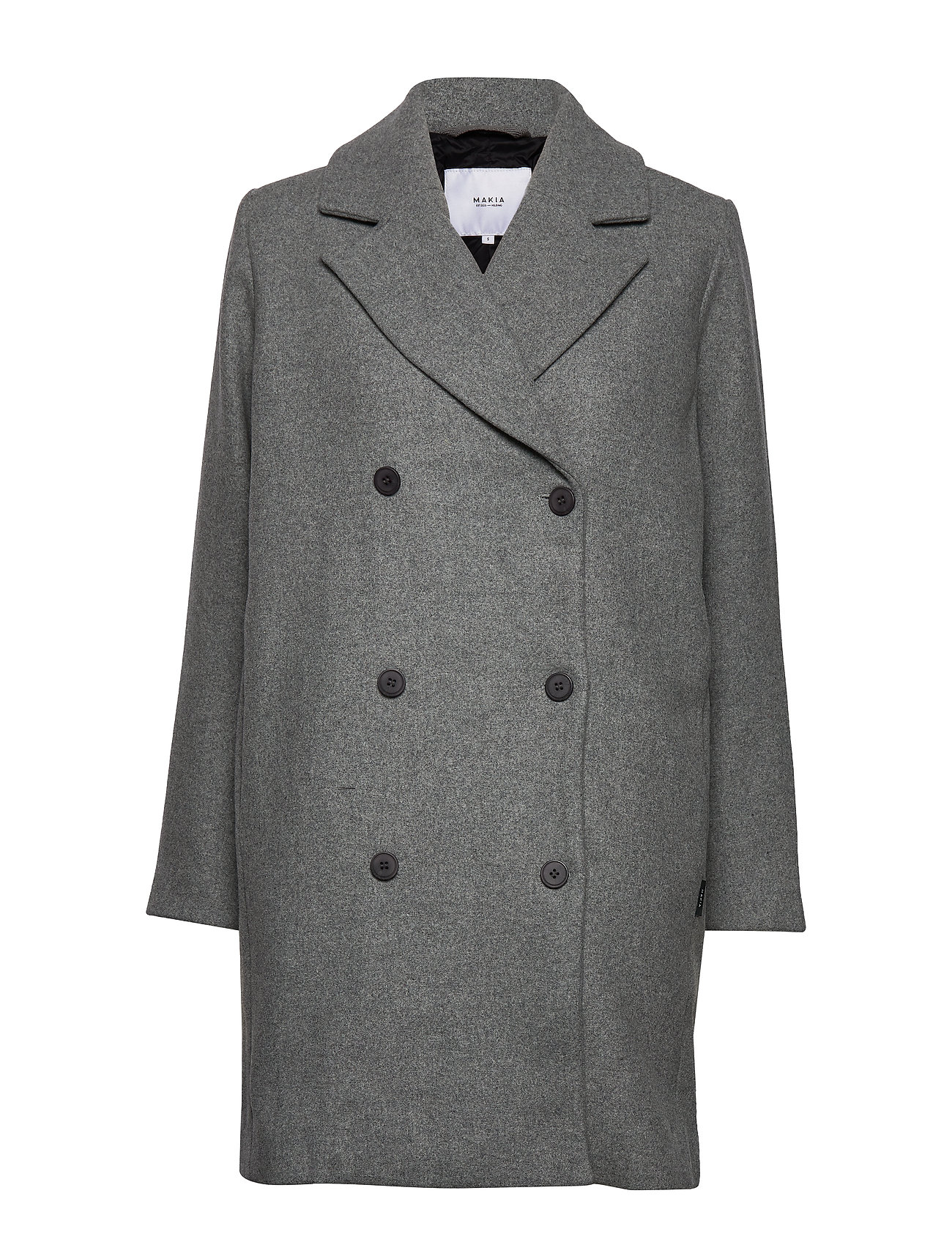 Makia Usva Coat - LIGHT GREY