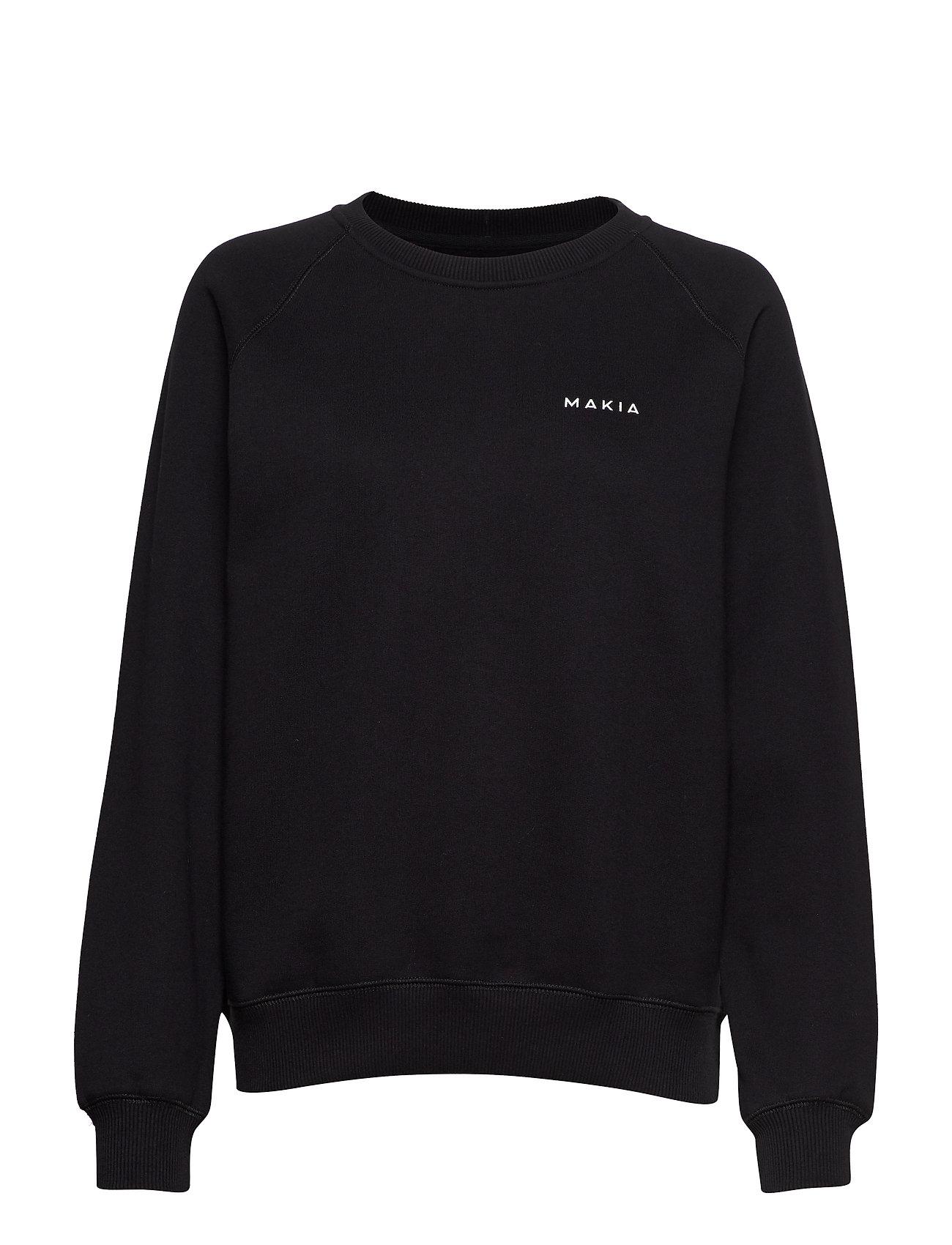 Makia Core Sweatshirt - BLACK