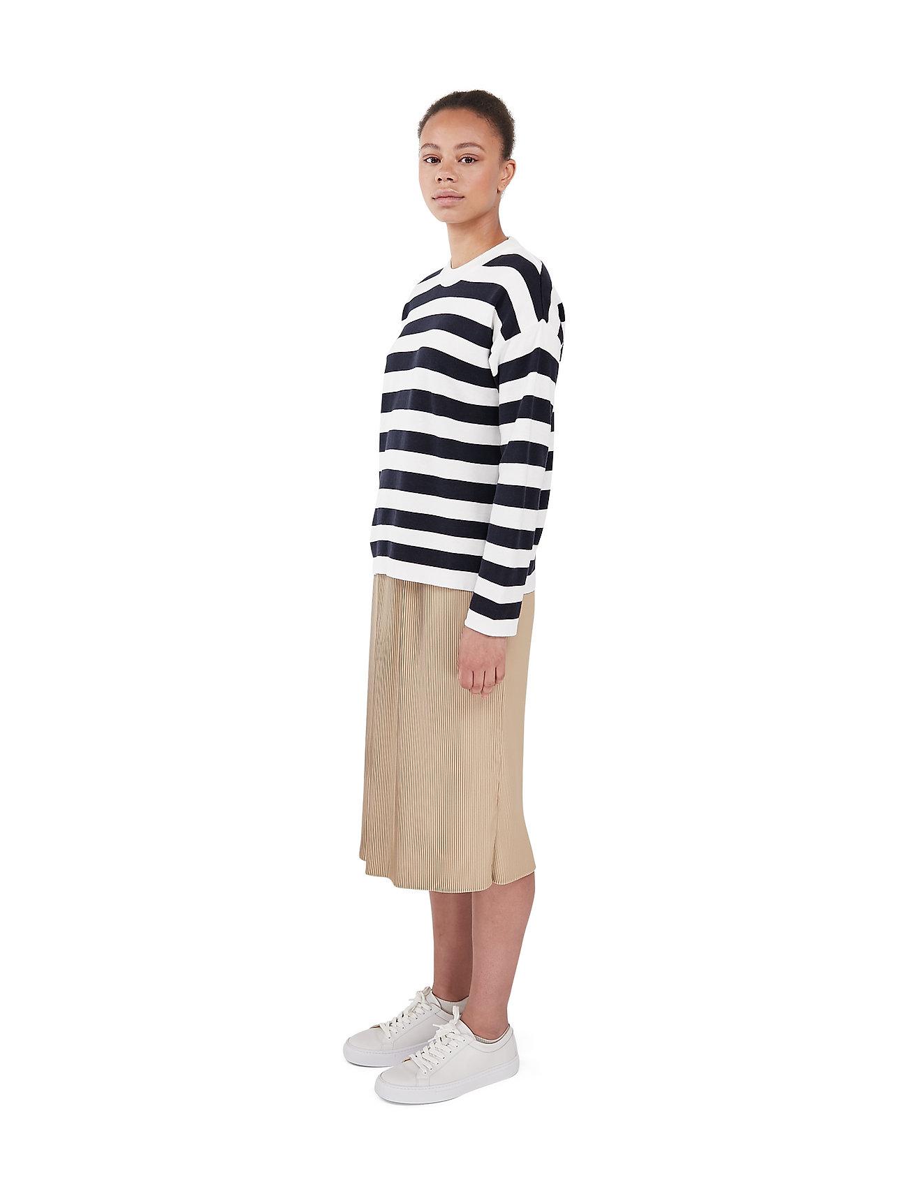 Makia - Willow Knit - trøjer - navy-white - 3