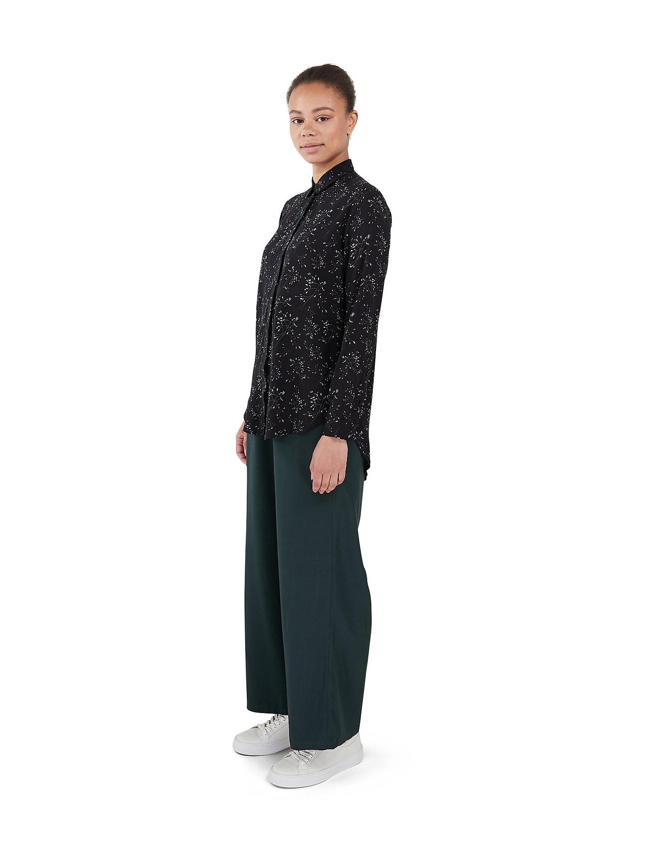 Makia - Mist Shirt - långärmade skjortor - black hay - 3
