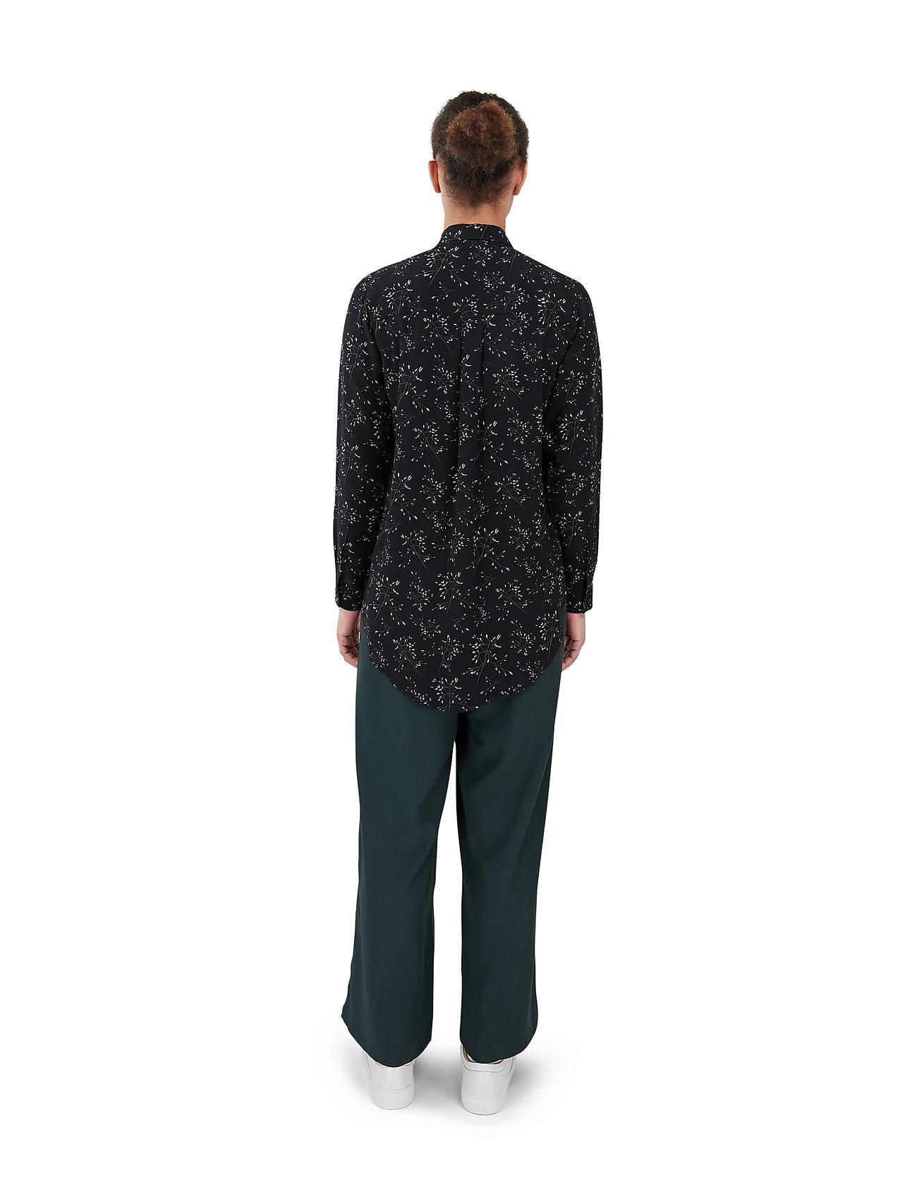 Makia - Mist Shirt - långärmade skjortor - black hay - 4
