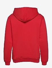 Makia - Shield Hooded Sweatshirt - hoodies - red - 1