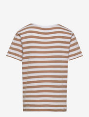 Makia - Verkstad T-Shirt - korte mouwen - camel-white - 1