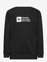 Makia - Flint Sweatshirt - sweatshirts - black - 0