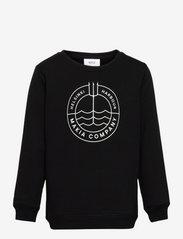 Trident Sweatshirt - BLACK