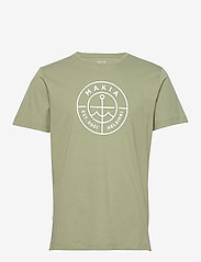 Makia - Scope T-Shirt - kurzärmelig - olive - 0