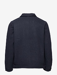 Makia - Hacienda Jacket - wool jackets - navy melange - 2