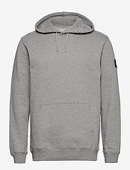 Makia - Symbol Hooded Sweatshirt - basic sweatshirts - grey - 0